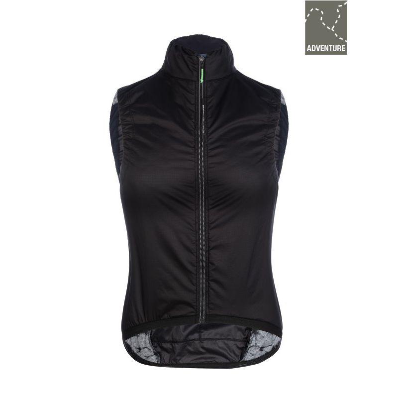 Q36.5 Adventure Women's Insulation Vest Black - Chaleco ciclismo - Mujer